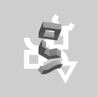 three shapes graphic iv - digital artwork
