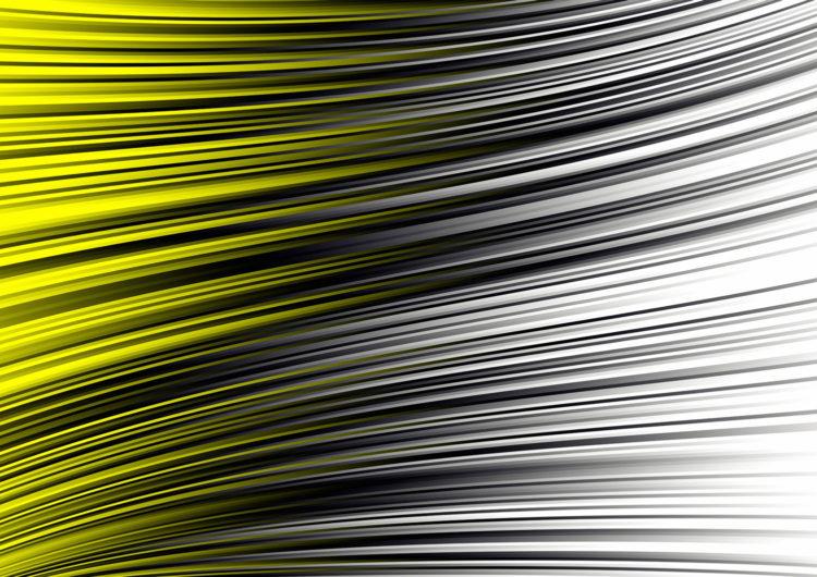 yellow flag - digital artwork