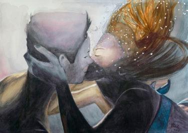 underwater - handcrafted artwork