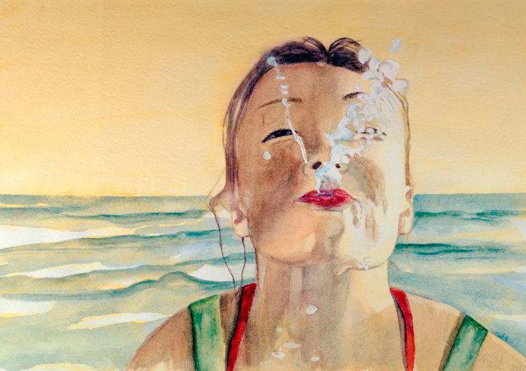 'fun splash' - handcrafted artwork