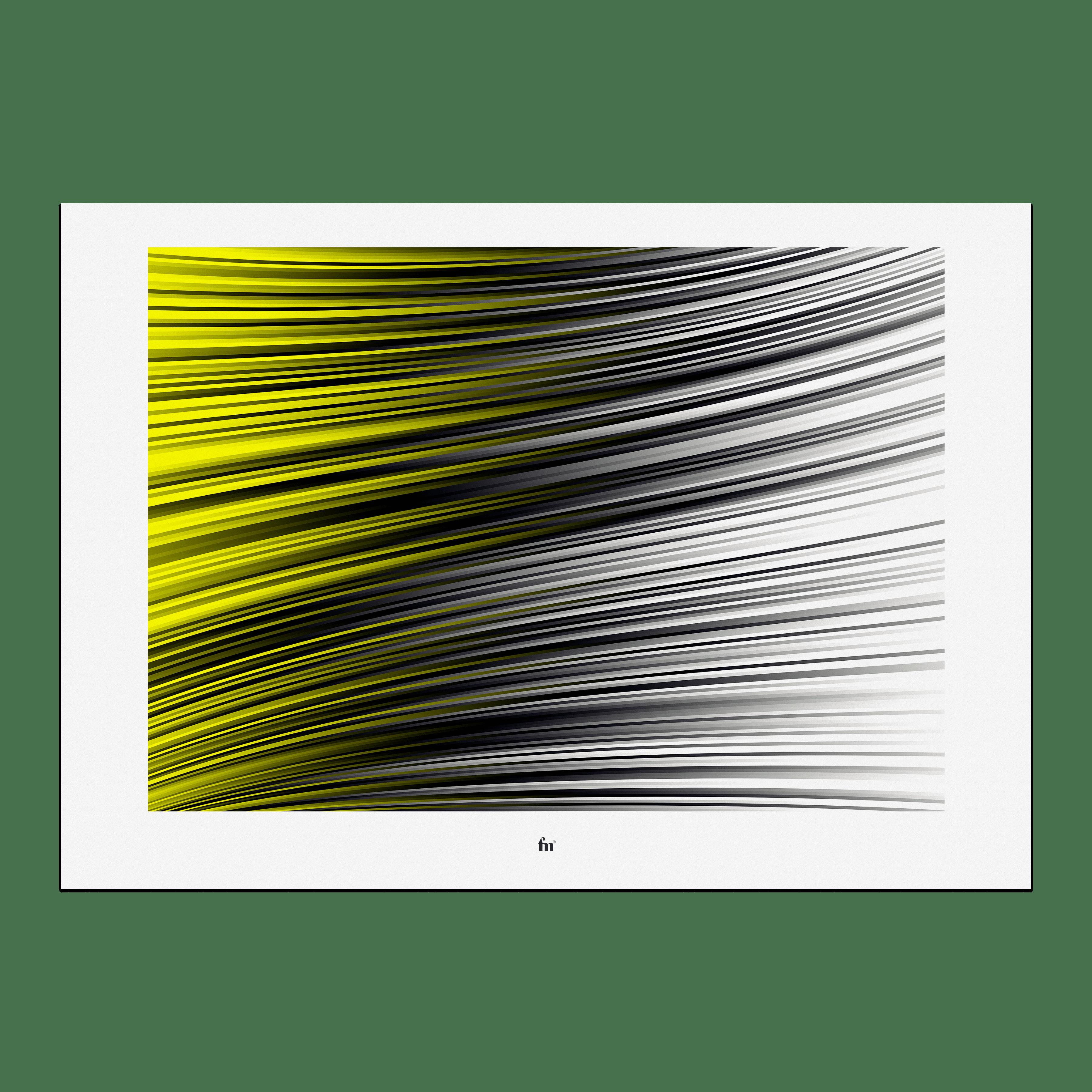 Julian Fahrenholz Yellow Flag Fineart print