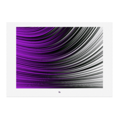 Julian Fahrenholz Purple Flag Fineart print